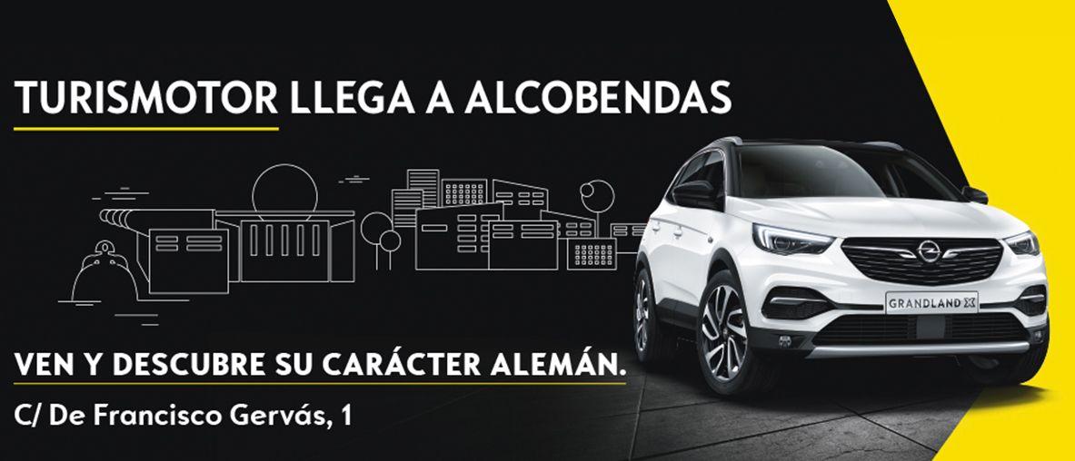 Turismotor, Tu nuevo Concesionario Opel en Alcobendas