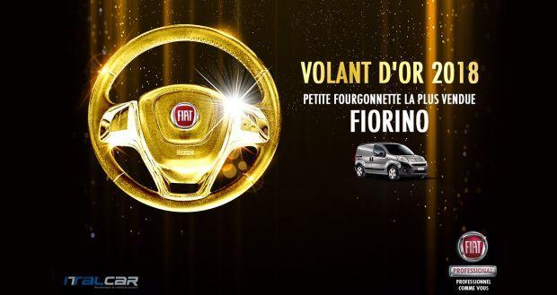"""Nuevo Fiorino galardonado con el premio """"Volant d'or"""" en Túnez"""