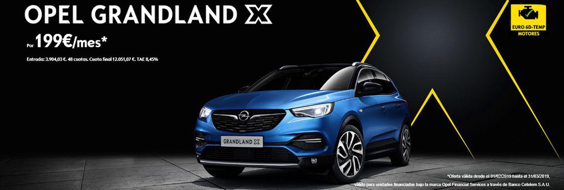 [Opel] NUEVO OPEL GRANDLAND X Header