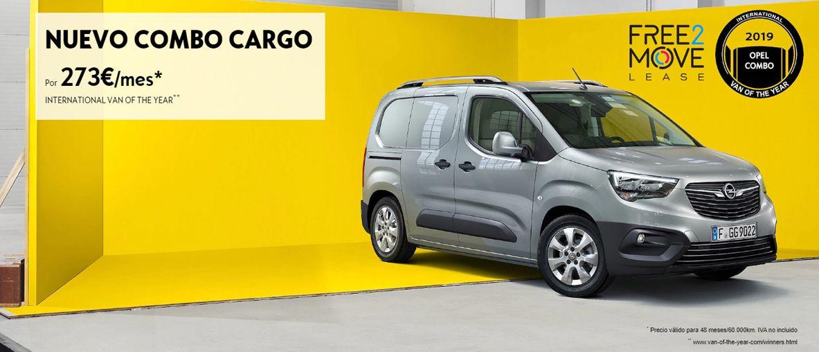 Nuevo Combo Cargo por 273€/mes.