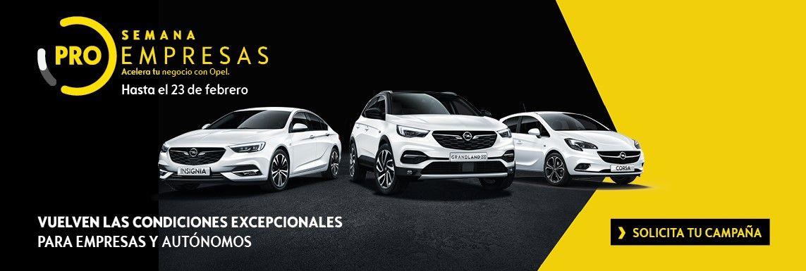 [Opel] Semana ProEmpesas Turismos Header