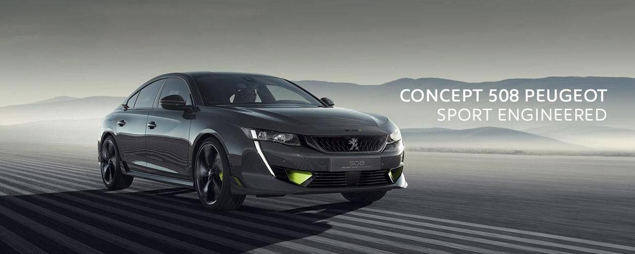 Concept 508 Peugeot Sport Engineered: objetivo, máximas prestaciones