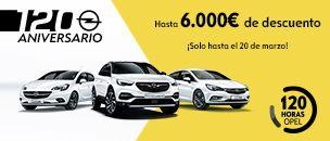 [Opel] 120 ANIVERSARIO 120 HORAS List