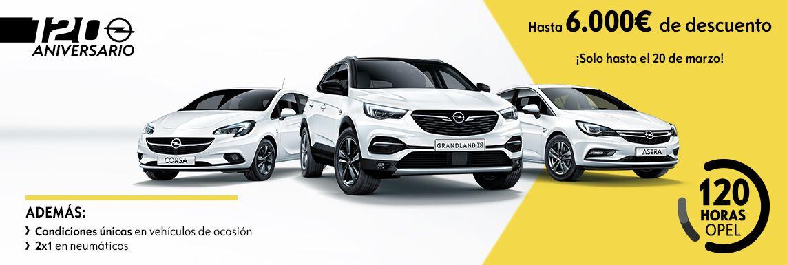 [Opel] 120 ANIVERSARIO 120 HORAS Header