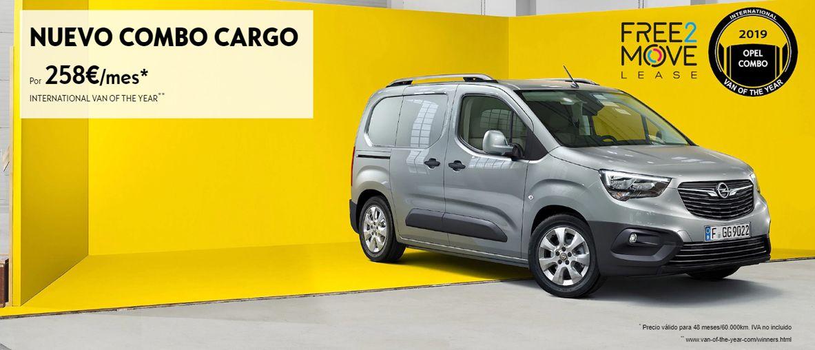 Nuevo Combo Cargo por 258€/mes.