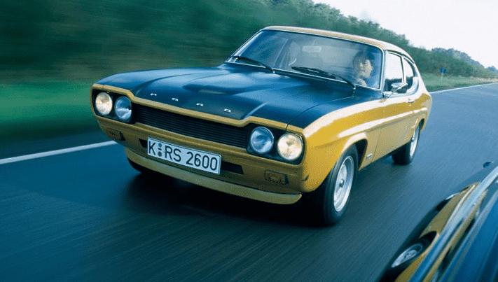 """50 años de Ford Capri, """"el coche que siempre te habías prometido"""""""