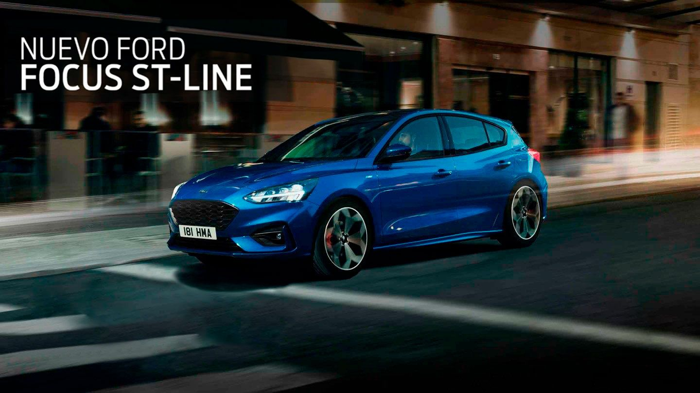 NUEVO FORD FOCUS ST-LINE