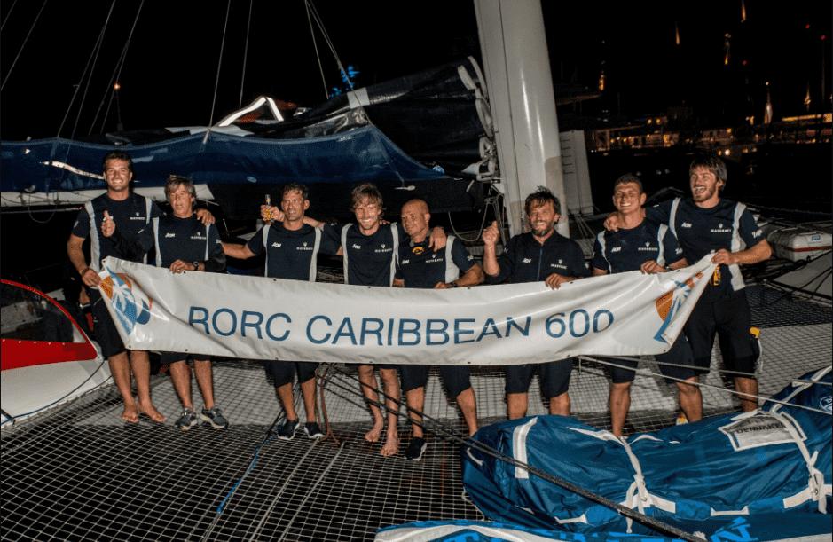 El equipo italiano establece un nuevo record de la regata: 1 día, 6 horas y 49 minutos Su directo rival Argo alcanza la meta 7 minutos más tarde