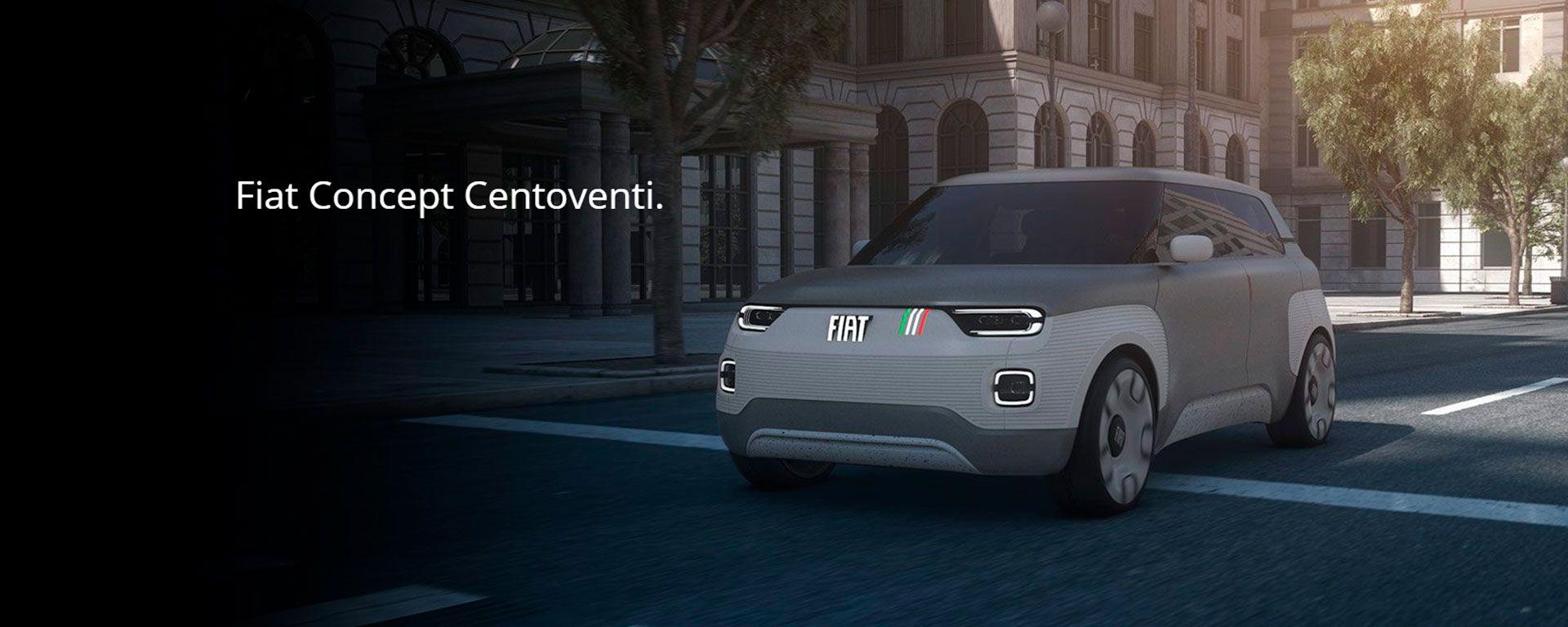FIAT CONCEPT CENTOVENTI.