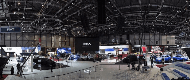 Gran evento en Ginebra para desvelar las novedades de Alfa Romeo, Fiat y Jeep®