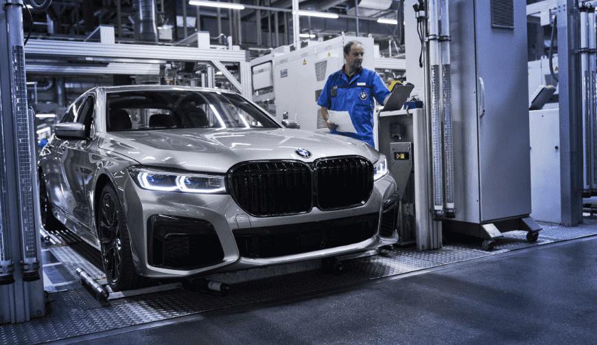 Inicio de la producción del nuevo BMW Serie 7 Sedan.
