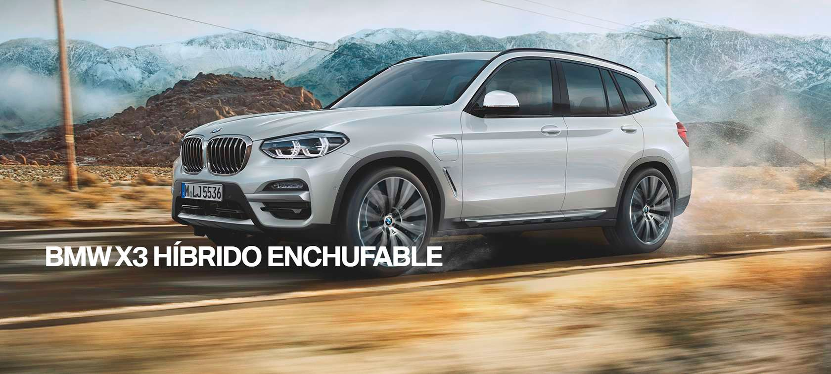 BMW X3 HÍBRIDO ENCHUFAFLE