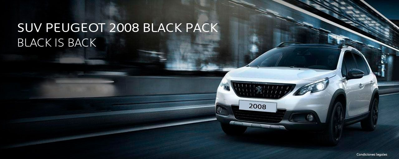 SUV PEUGEOT 2008 BLACK PACK.