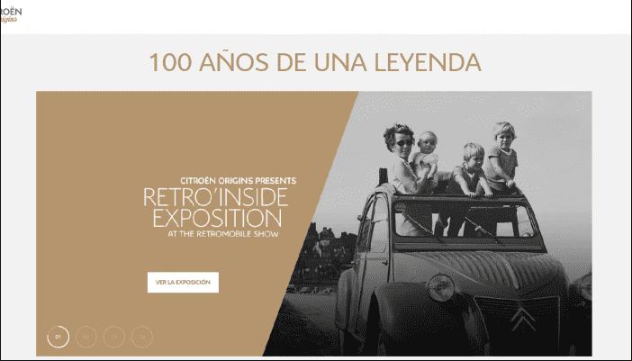 CON MOTIVO DEL CENTENARIO CITROËN, EL MUSEO VIRTUAL CITROËN ORIGINS PRESENTA UN NUEVO ASPECTO