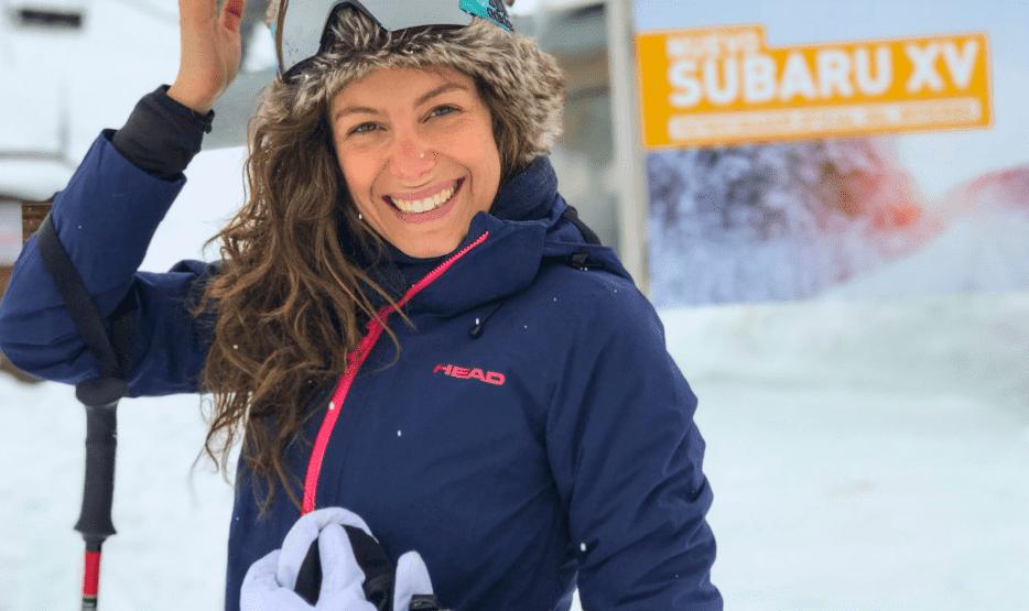 Los destinos favoritos de Laura Madrueño en invierno con Subaru