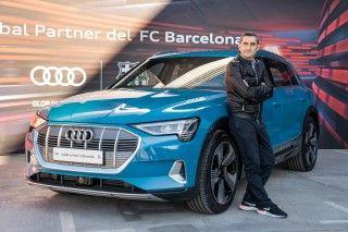 Los jugadores del FC Barcelona reciben sus nuevos vehículos Audi