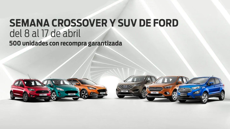 SEMANA CROSSOVER Y SUV DE FORD