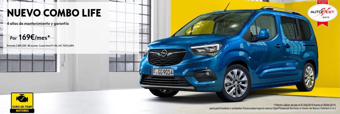 [Opel] COMBO LIFE Header