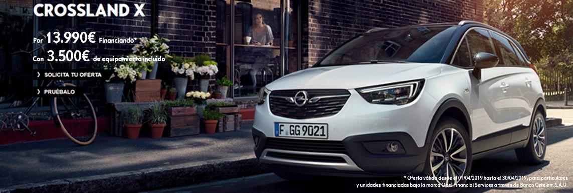 [Opel] Opel Crossland X Header