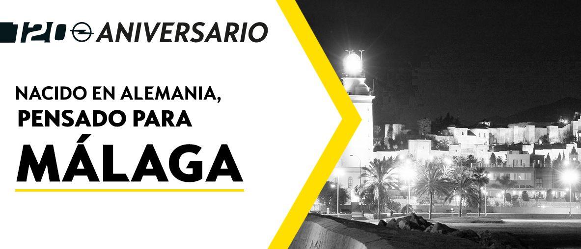 Gama Opel 120 Aniversario, Pruébalo y pasa un día inolvidable en Autopremier Málaga
