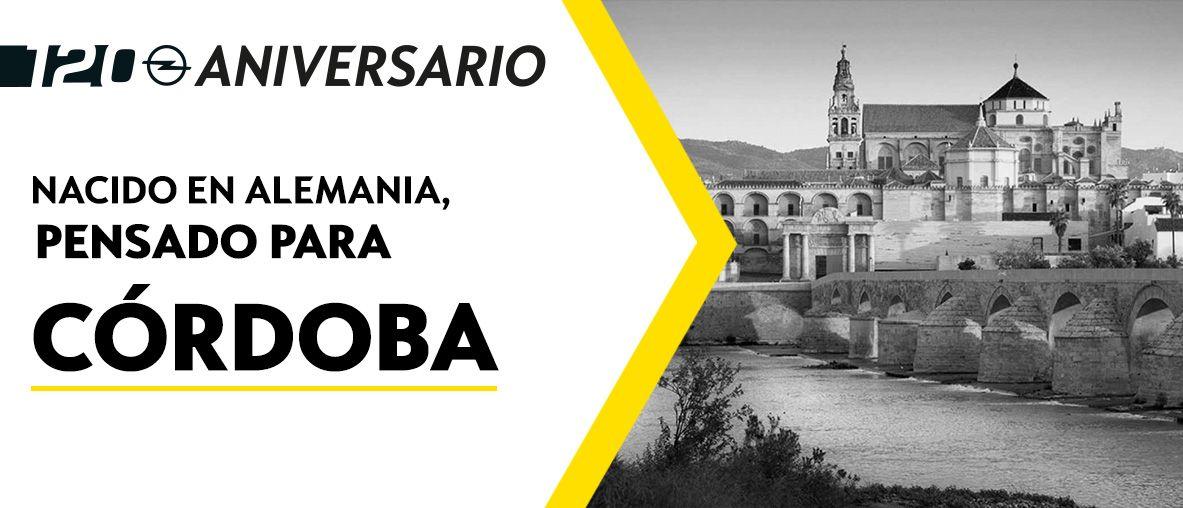 Gama Opel 120 Aniversario, Pruébalo y pasa un día inolvidable en Fyrsa