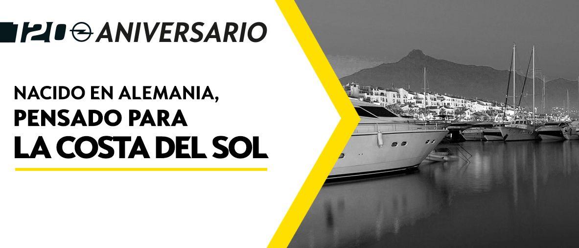 Gama Opel 120 Aniversario, Pruébalo y pasa un día inolvidable en Autopremier Costa