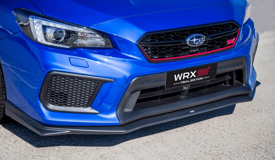 Subaru WRX STI Final Edition: La leyenda de nuestros 8 samuráis