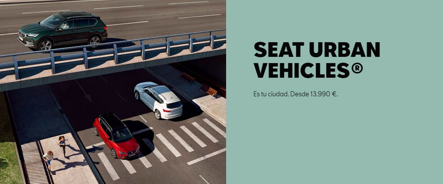 SEAT URBAN VEHICLES.