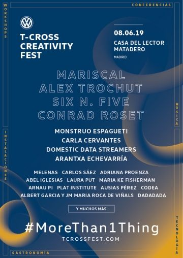 Madrid acogerá el Volkswagen T-Cross Creativity Fest
