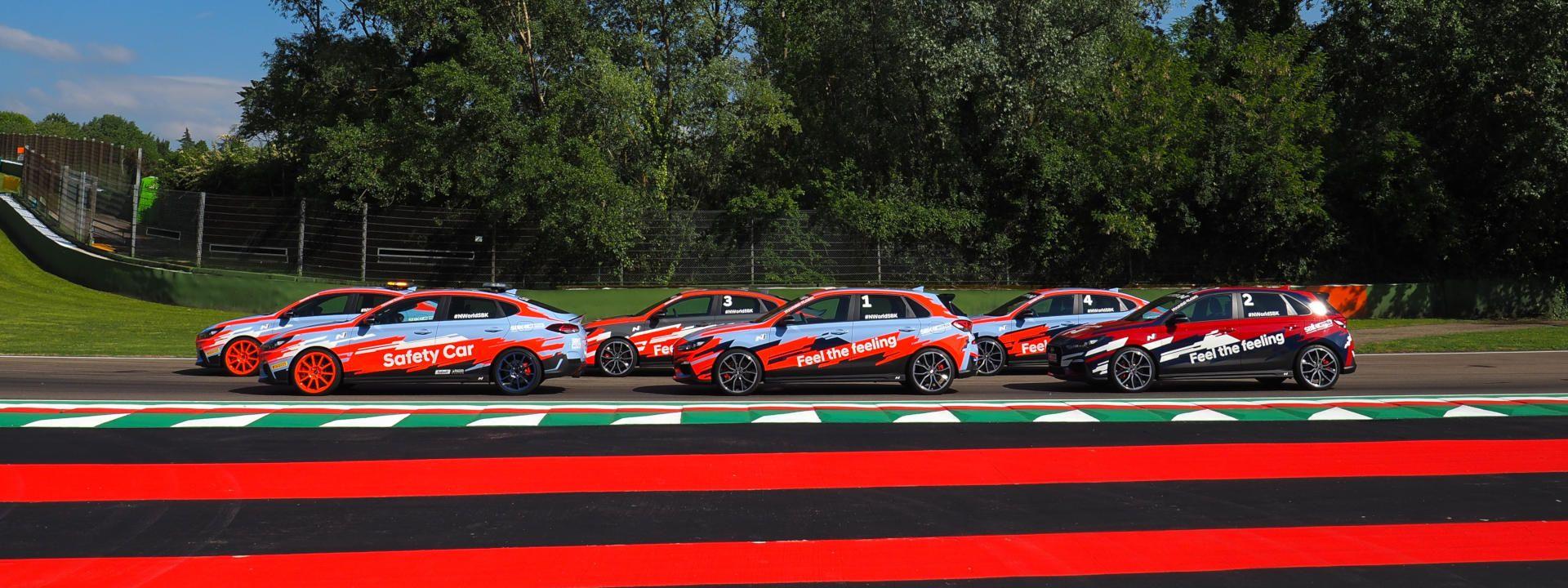Hyundai Motor exhibirá sus coches en WorldSBK en Imola