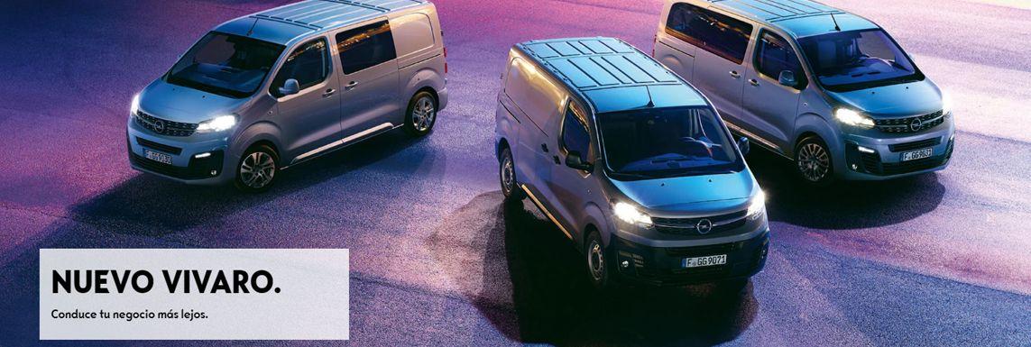 [Opel] Nuevo Vivaro Header