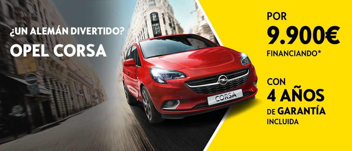 Run Out Corsa desde 9.900€ financiando.
