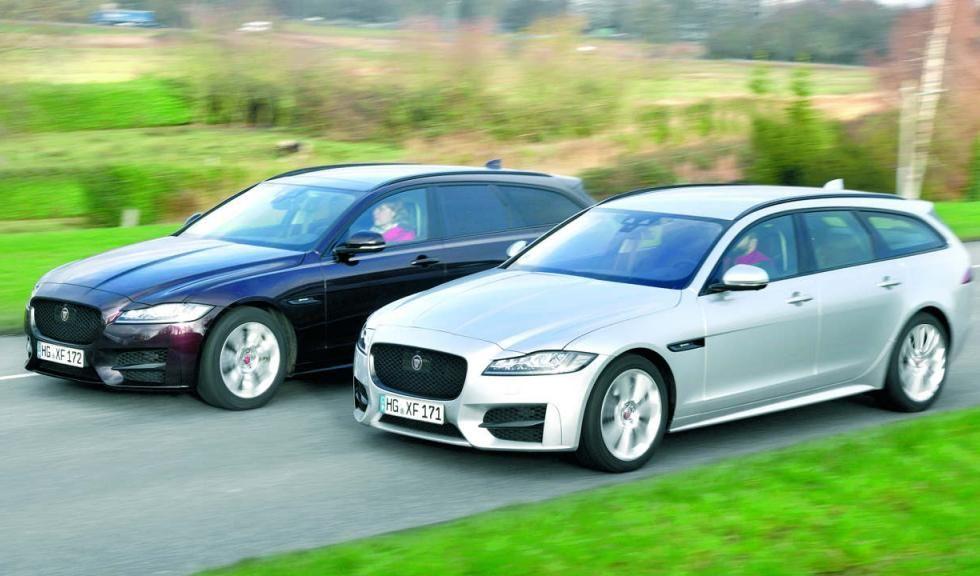 Jaguar XF Sportbrake: ¿gasolina o diésel?