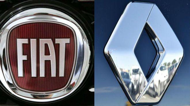 Fiat y Renault estudian una posible fusión