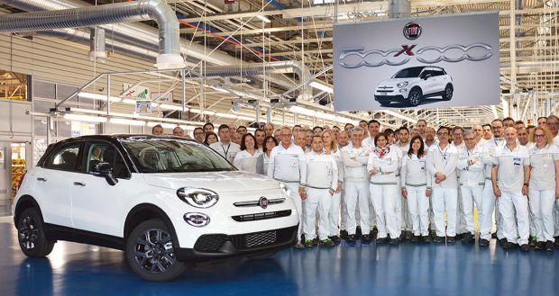 El Fiat 500X bate su récord con la unidad número 500.000