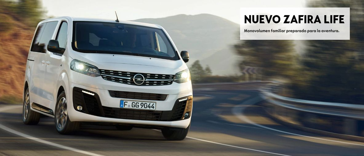 Nuevo Zafira Life, el vehículo funcional y práctico que da protagonismo  al estilo .