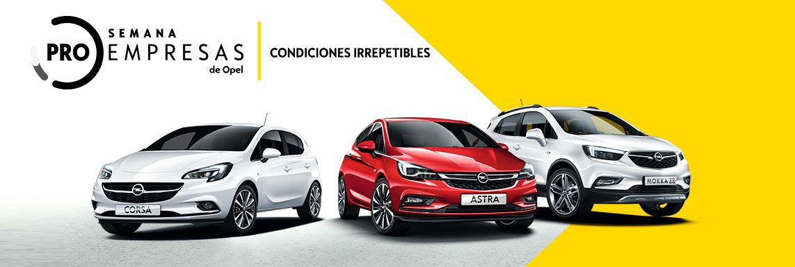 [Opel] PRO EMPRESAS VO Header