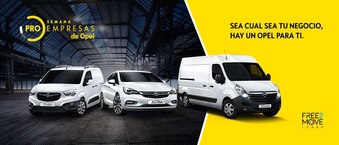 Semana ProEmpresas Opel Gama Opel - Condiciones Irrepetibles