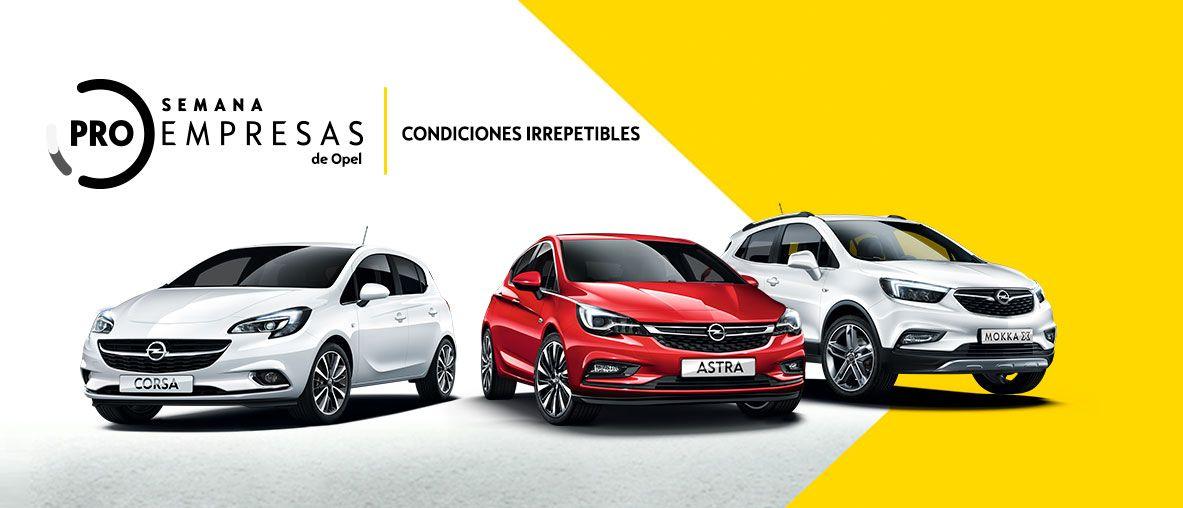 Semana ProEmpresas Opel VO - Condiciones Irrepetibles