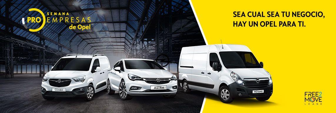 [Opel] PRO EMPRESAS TURISMOS Header