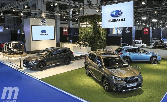 Subaru presenta en España su nueva gama de coches híbridos