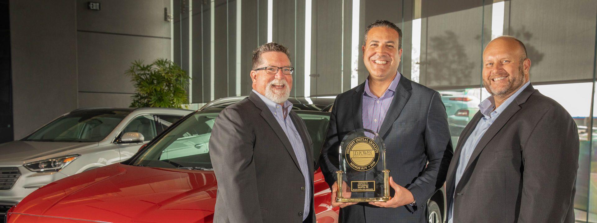 Hyundai, segunda marca no premium en IQS de J.D. Power