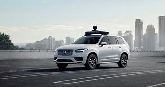 Volvo Cars y Uber presentan un vehículo de producción listo para la conducción autónoma