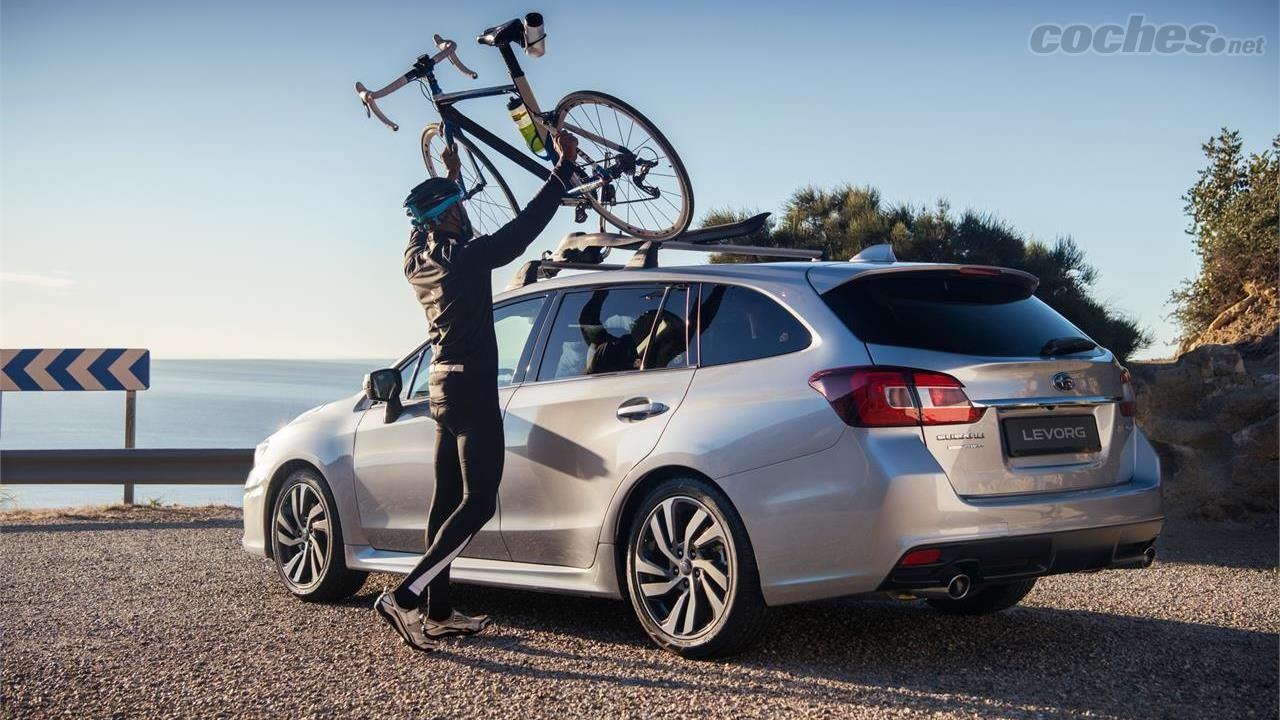 Subaru Levorg 2019: Pequeña actualización