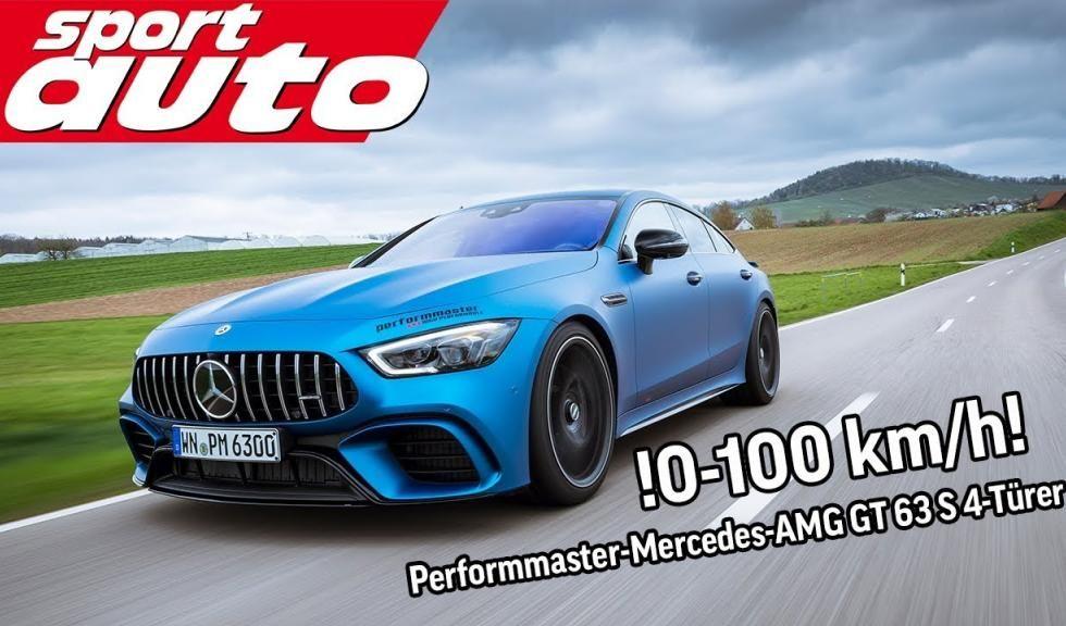 El Mercedes-AMG GT 63 S de Performmaster es realmente rápido