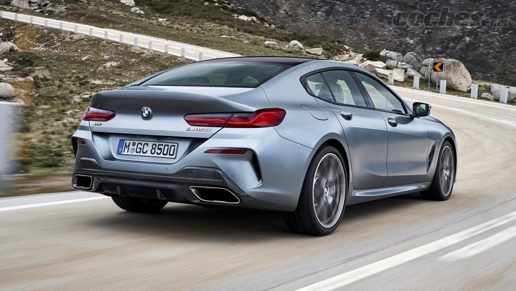 BMW Serie 8 Gran Coupé: Tercera carrocería y más habitabilidad