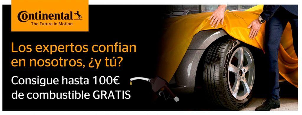 100 EUROS COMBUSTIBLE GRATIS