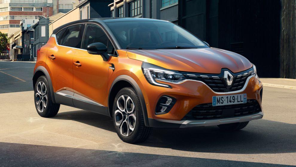 Renault Captur 2020: más grande y con versiones híbridas enchufables