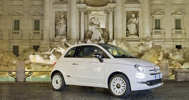 La edición especial 500 Dolcevita celebra el 62 aniversario del emblemático Fiat