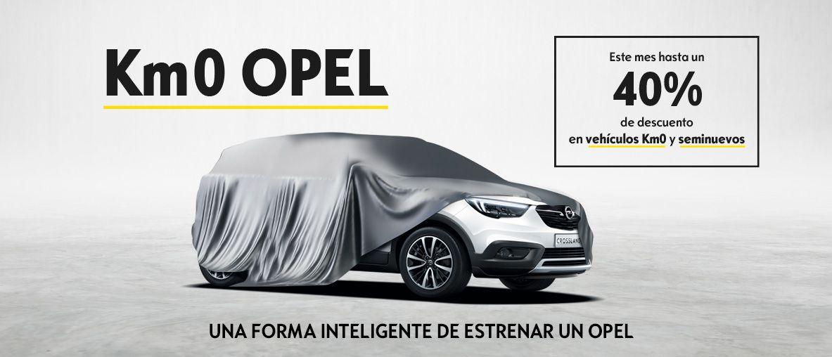 KM0 Opel, una forma inteligente de estrenar un Opel.